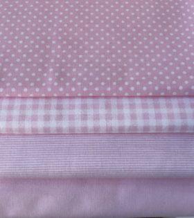 Tessuti cotone rosa