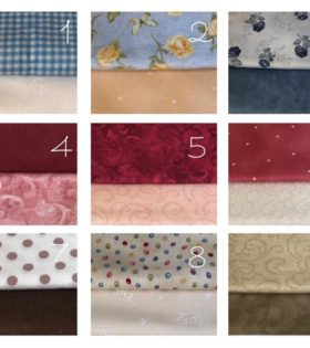 Abbinamenti di tessuto in cotone