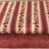Tessuto Rosa con roselline