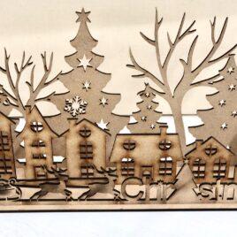 Il paesaggio di Natale