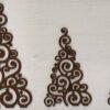 Alberi intarsiati marroni