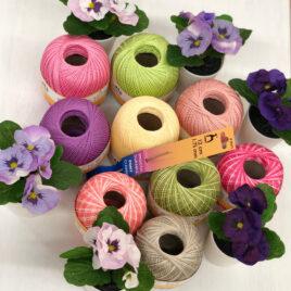 Cotone colorato per Crochet