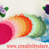 Presine in cotone colorate