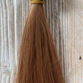 capelli per bambole lisci corti biondi