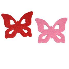 Farfalla con ritagli a goccia