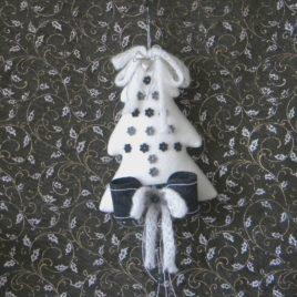 Albero di Natale in Pile Decorato-P01