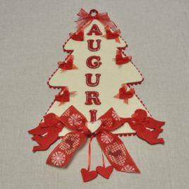 Albero di Natale Feltro Decorato-G01