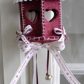 Lanterna dello Chalet piccola bordeaux