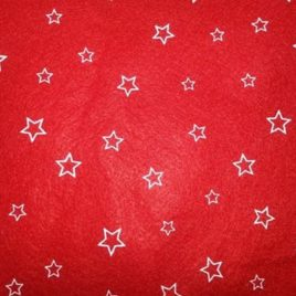 Rosso Stelle Panna